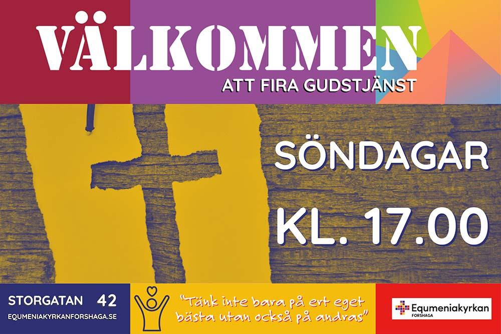 Gudstjänst @ Equmeniakyrkan | Värmlands län | Sverige